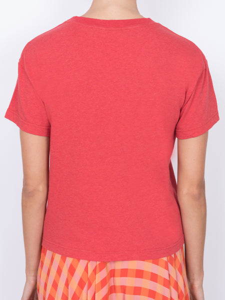 THE LHD LOGO T-SHIRT - RED