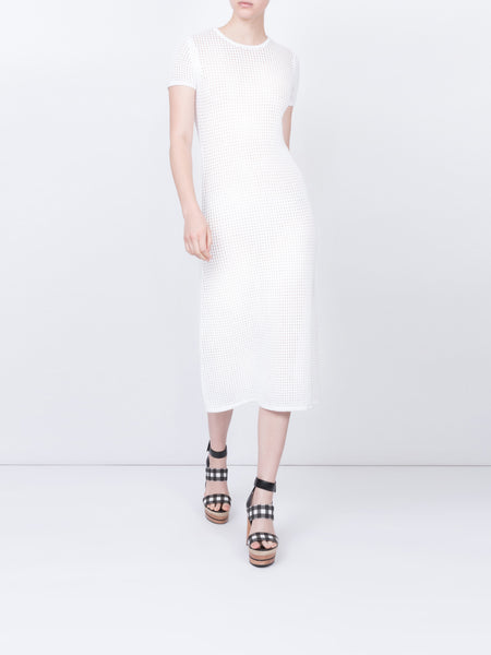 THE L'EAU DRESS - WHITE