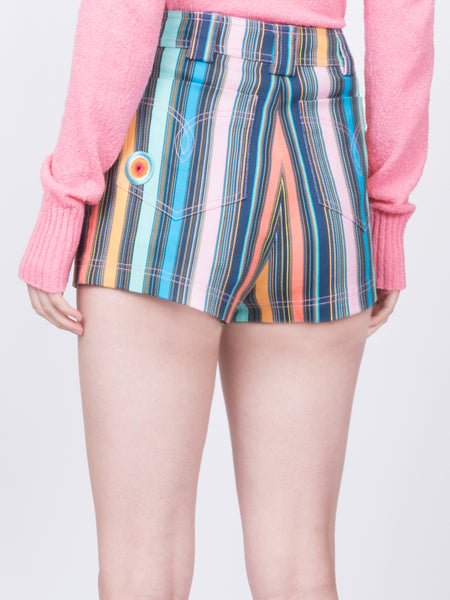 THE PEARL BEACH SHORTS - MULTI STRIPE