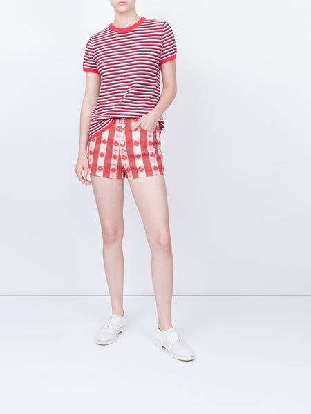 THE SIBILLI TOP - MULTI STRIPE