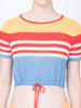 THE SOLEIL TOP - MULTI STRIPE
