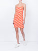THE WYNWOOD SLIP DRESS - GINGHAM RED ORANGE PEACH