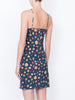 THE WYNWOOD SLIP DRESS - MINI FRUIT PRINT NAVY