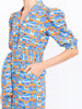 THE CASITAS DRESS - CAREYES VILLAS PRINT BLUES