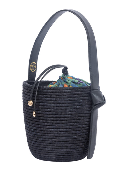 LHD X CESTA COLLECTIVE LUNCHPAIL - BLACK + CAREYES QUIRKY PRINT NAVY