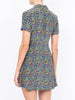 THE CLEMENCEAU DRESS - CAREYES QUIRKY PRINT NAVY