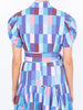THE GLADES DRESS - CHECKS BLUES