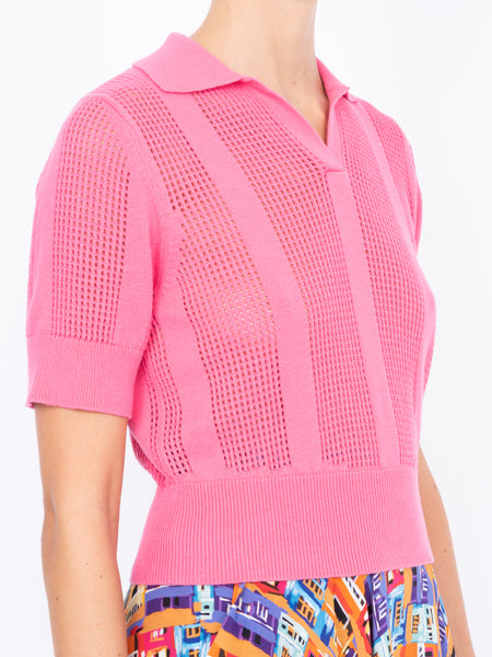 THE LE PHARE POLO - PINK