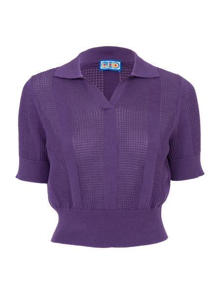 THE LE PHARE POLO - PURPLE