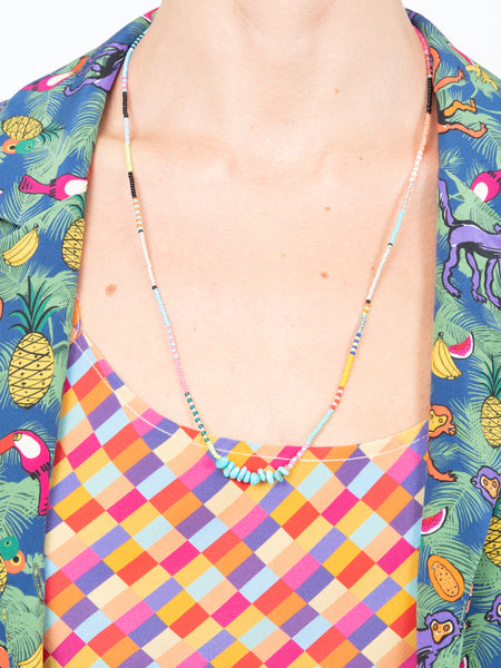LHD X BUNNY SHAPIRO MONSERRAT NECKLACE - PINK