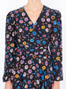 THE ODALYS BLOUSE - CAREYES FLORAL PRINT BLACK