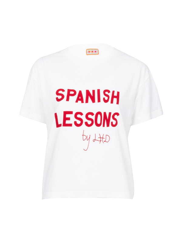 THE SPANISH LESSONS T-SHIRT - WHITE