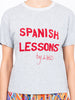 THE SPANISH LESSONS T-SHIRT - GREY