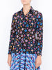 THE STAR ISLAND BLOUSE - CAREYES FLORAL PRINT BLACK