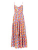 THE TEOPA DRESS - CAREYES VILLAGE PRINT BRIGHTS