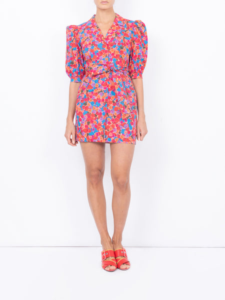 THE CASITAS DRESS - BRIGHT FRENCH FIG