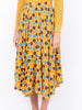THE FRENCH RIVIERA SKIRT - YELLOW RETRO BLOSSOM