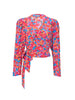 THE ODALYS BLOUSE - BRIGHT FRENCH FIG