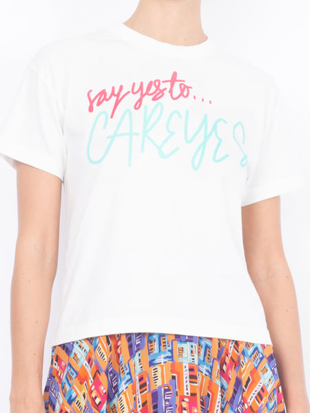 THE SAY YES T-SHIRT - WHITE