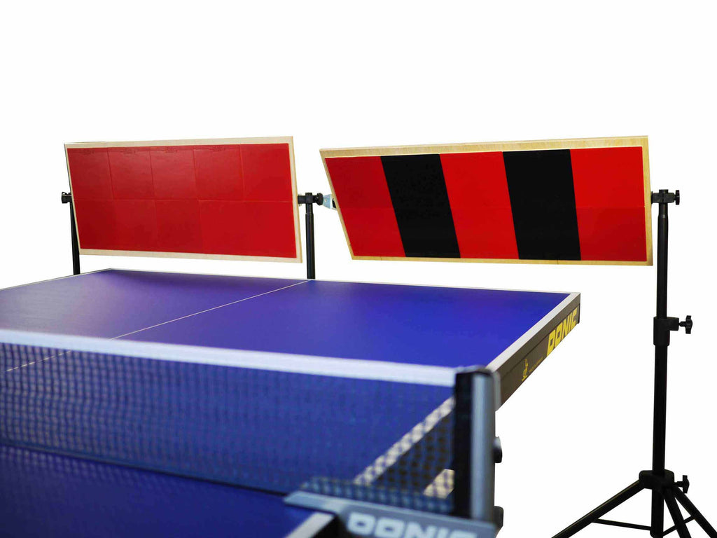 Return board for ping pong use - double bounder for solo practice