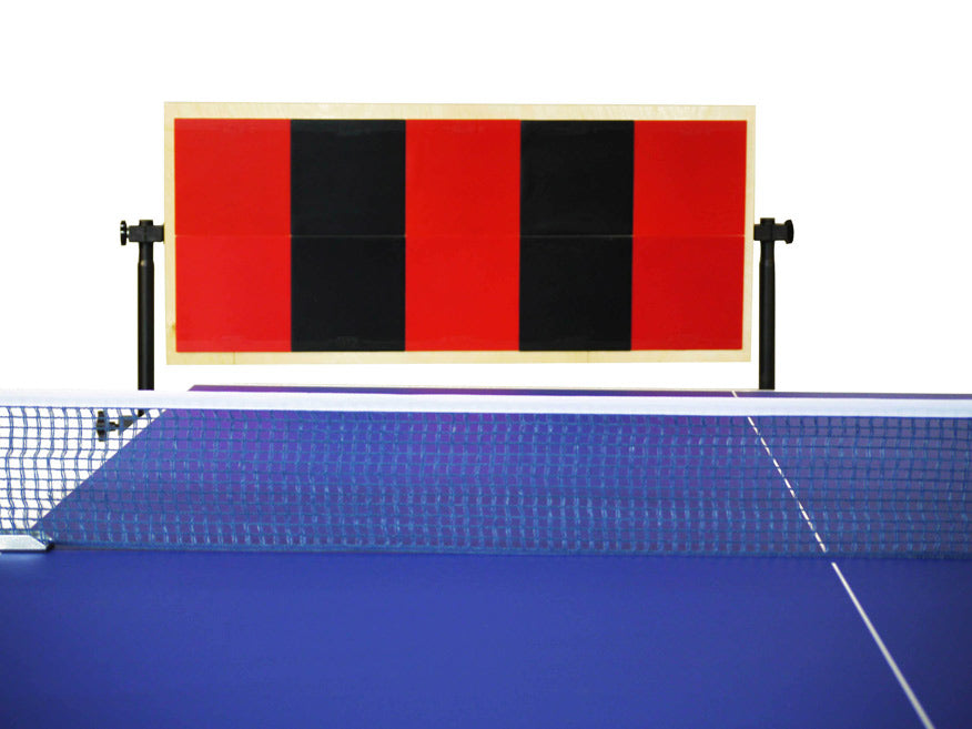 Return board for ping pong with mixed color - Wally Rebounder