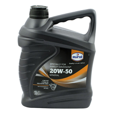 Oil 20w50 for Harley
