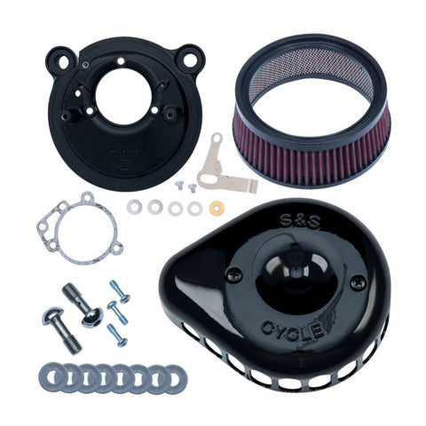S&S MINI TEARDROP STEALTH AIR CLEANER KIT