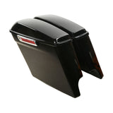"5"" DOWN EXTENDED SADDLEBAG SET BLACK 14-20"
