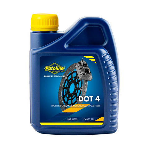 PUTOLINE DOT 4 BRAKE FLUID 500 ml