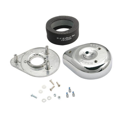 S&S TEARDROP AIR CLEANER KIT