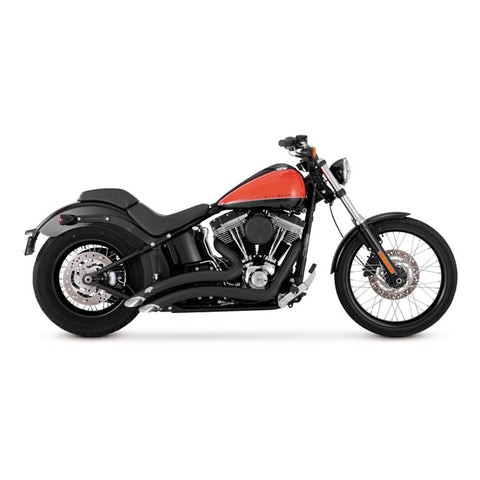 "VANCE & HINES, 2-1/2"" BIG RADIUS 2-2 EXHAUST. BLACK"