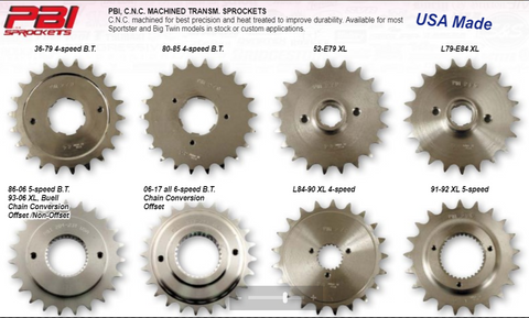 Front sprocket / for tandhjul til gearkasse