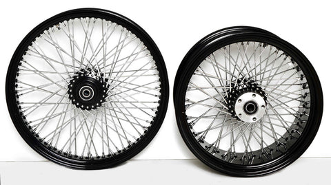 BLACK SPOKE WHEELS