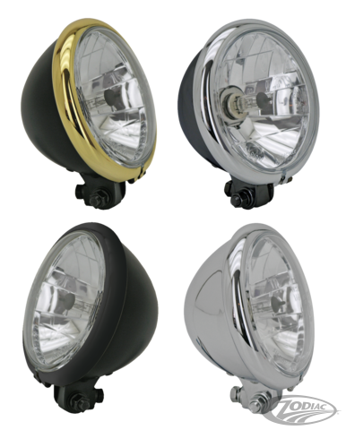 "Headlight 5-3/4"" TÜV/EU"
