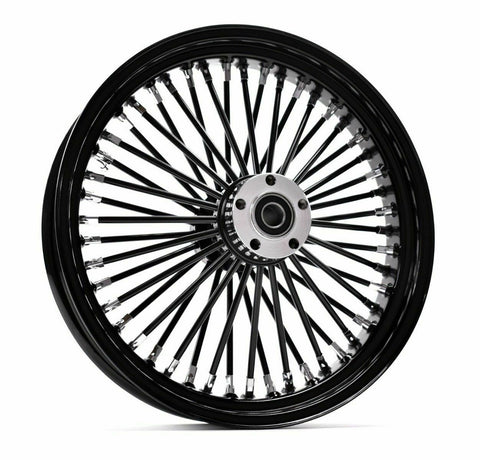 FAT SPOKE WHEELS BLACK