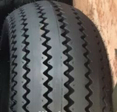 Retro ZigZag SawTooth Rear Tires