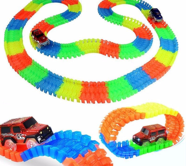 Bend Flex - Racing Track Set - Car Included