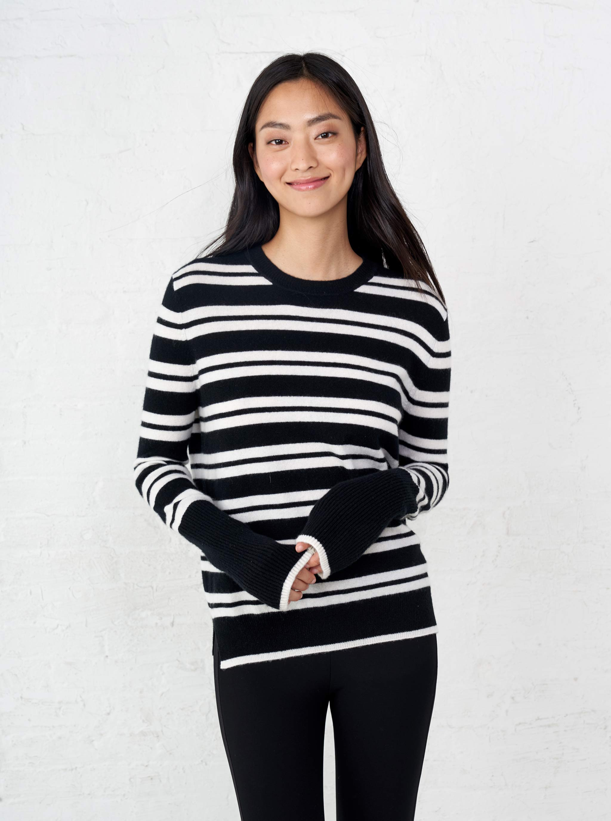 AAA Triple Stripe Sweater - La Ligne