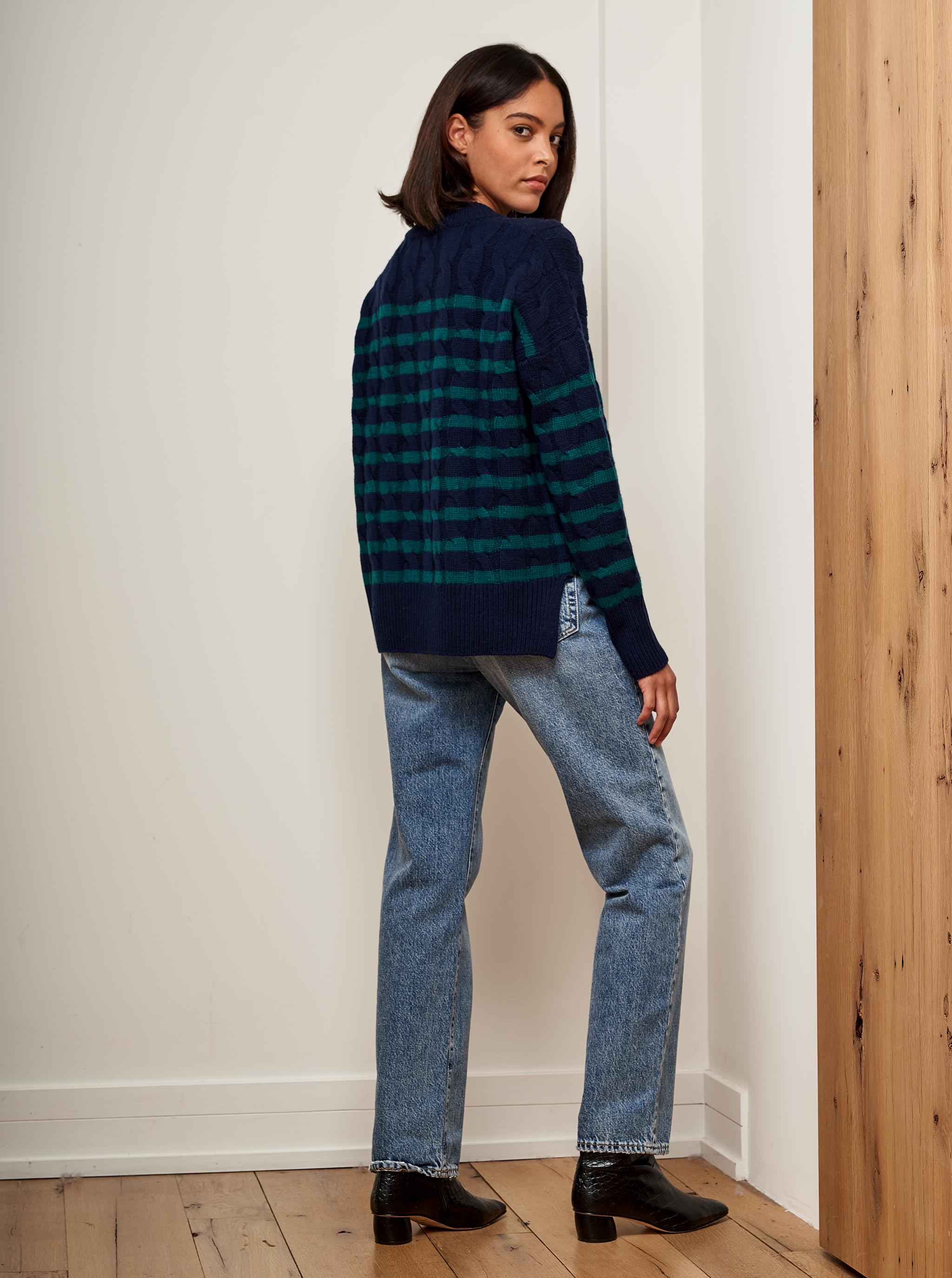 Cable Marin Sweater - La Ligne