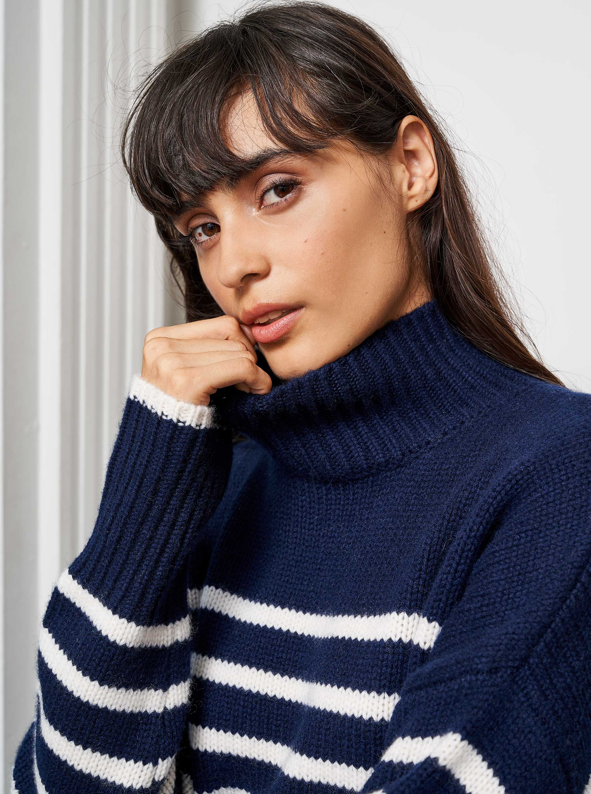 Marin Turtleneck - La Ligne