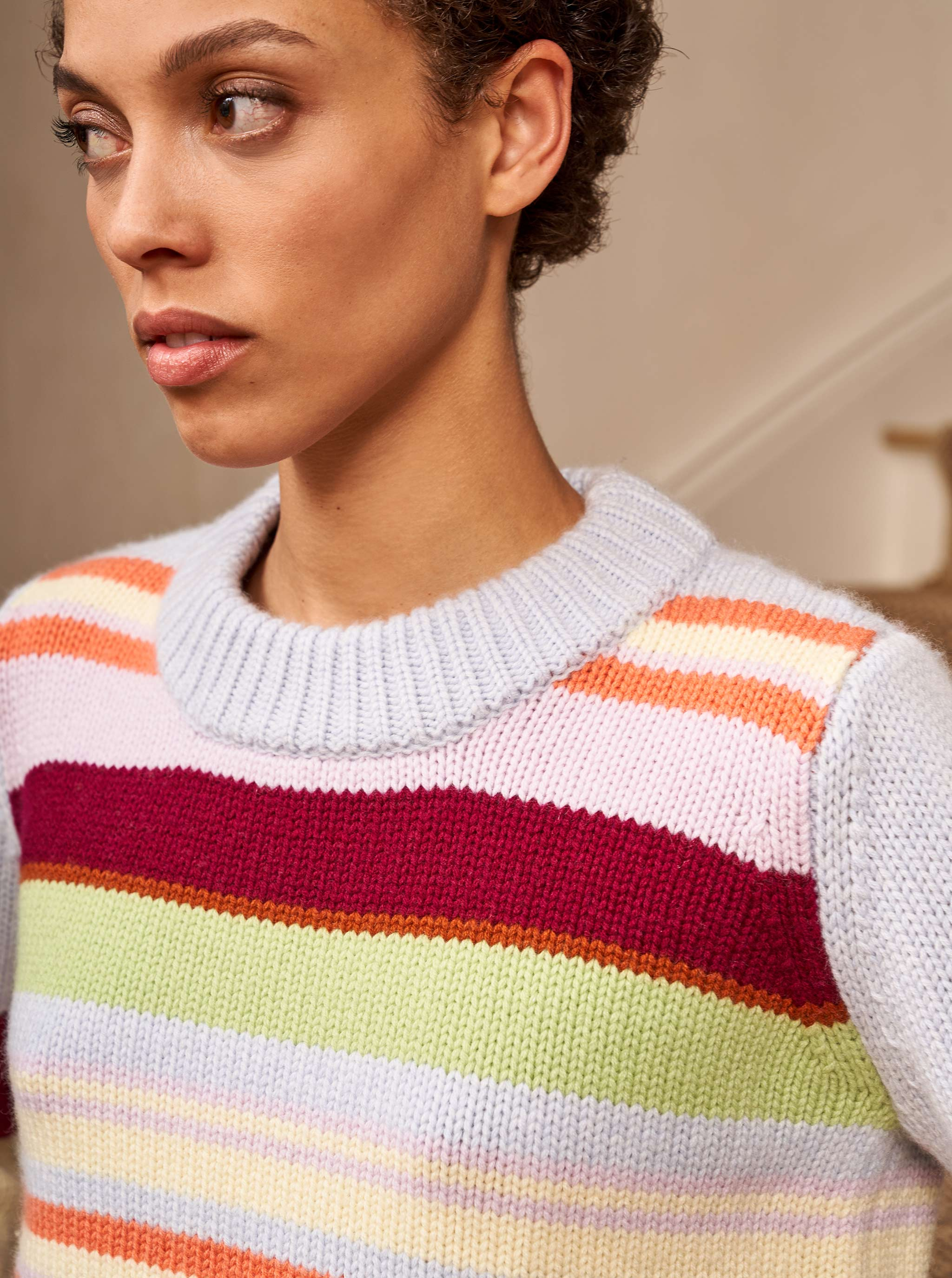 Multi Mini Marin Sweater - La Ligne