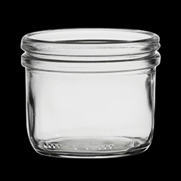 Fido Clear Jar Without Lid (6 oz / 4 oz)