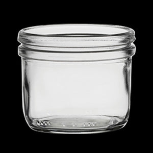 Fido Clear Jar Without Lid (7 3/4 oz)