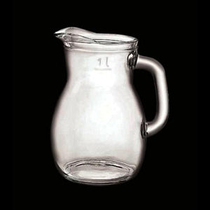 Bistrot Pitcher (39 1/4 oz) w/pour line at 34 oz