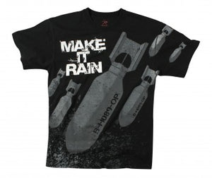 Make It Rain Bombs T-shirt