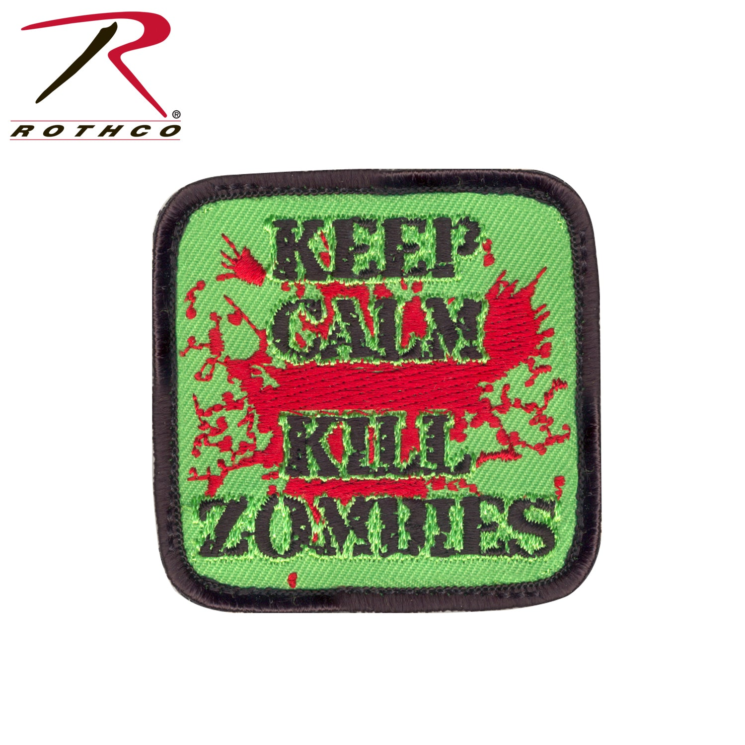 Keep Calm Kill Zombies Morale Patch