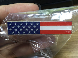 American Flag Commendation Bar
