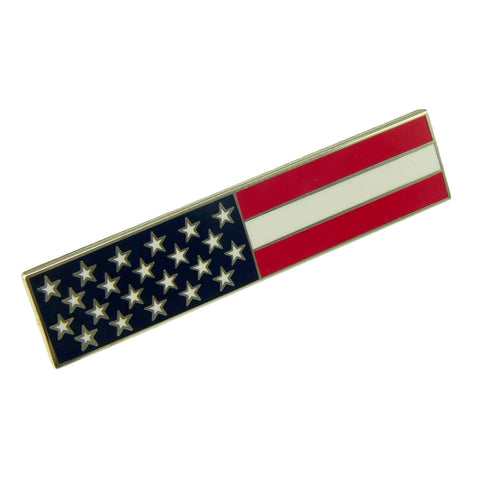 American Flag Citation Bar Lapel Pin
