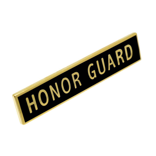 Honor Guard Citation Bar Lapel Pin