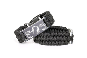 P.O.W. Anodized Paracord Wristband